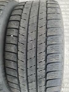 4 PNEUS HIVER MICHELIN 255 55 18    4 WINTER TIRES