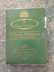 Classic Christmas craft studio