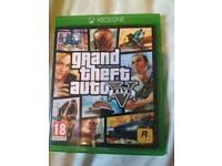 Xbox one gta V grand theft auto 5