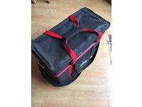 """Studio Spares 5u 19"""" Rack mount Flight Bag - Professional Music Equipment"""