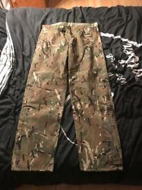 New Army waterproof trousers