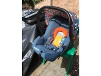 Cosatto giggle 2 car seat with isofix base