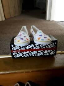 Vans size 5 brand new