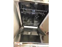 Integrated mini dishwasher