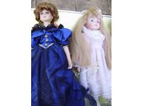 Collectable doll, selection of dolls, perfect condition