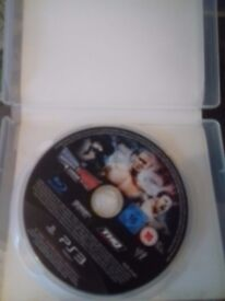 smackdown vs raw 2011 PS3 game