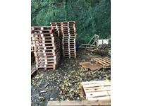 Fire wood, pallet wood, building wood FREE!