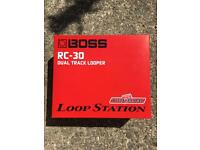 Boss RC30 Loop Pedal