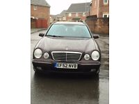 7 seater E Class Mercedes estate in excellent condition