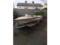 Speedboat and trailer project