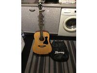 Ibanez acoustic guitar £70 cash