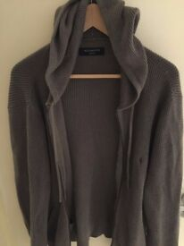 Grey All Saints Hoodie (M)