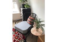 Ercol retro Lazy Evergreen Armchair