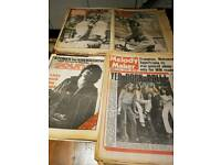 31 x NME SOUNDS MELODY MAKER MUSIC MAGAZINES 1976