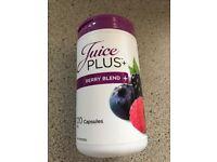 Juice plus berry capsules. Brand new and unopened 120. Expiry date 6/2018