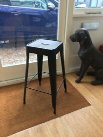 2 x Metal stools in good condition