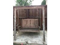 Hardwood Garden swing