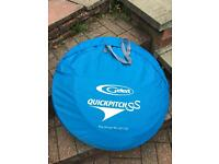 Quickpitch ss tent never been used