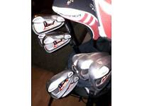 Taylormade burner irons 4-sw. In excellent condition.
