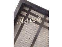 Marshall 4x12 PA cabinet 1968 Greenbacks