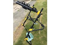 HIGH MOUNT, BIKE/CYCLE,CARRIER/RACK FOR UP TO 3 BIKES, It is in good used condition. comes with all