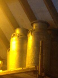Aluminium Creamery Cans