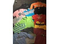 Boys age 3 designer clothes bundle jumpers tshirts etc