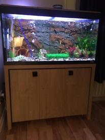 Fluval 200 and stand etc