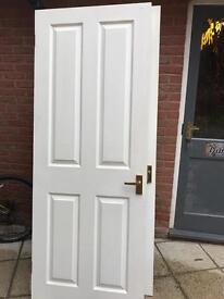 Internal Wood effect Panel Doors