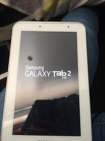 """Samsung tab2 7"""" no charger but only coppers off amazon"""