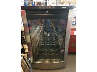 Wine Fridge Cooler. Samsung glass fronted wine fridge cooler. Holds approximately 29 bottles.