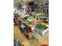 Second hand toy shop - social enterprise run not for profit