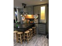 Kitchen cabinets, worktops abs appliances
