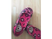 Women Irregular Choice platform creepers rock'n'roll shoes size 4