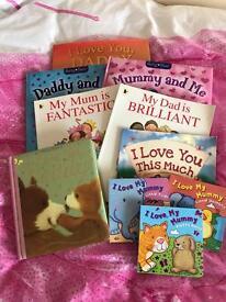 I love mummy and daddy books