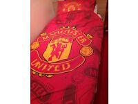 Man Utd bedroom items