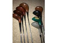 Vintage golf club set