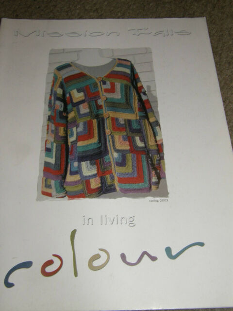 Mission Falls in Living Color Book Knitting Patterns 1.25 | eBay