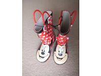 (New) Mothercare Minnie wellies size 9