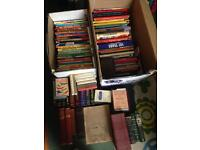 Loads of books perfect for car boot