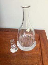 Brandy/whisky decanter