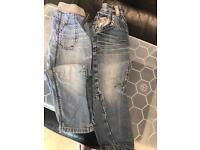 Boys Bundle Size 2-3 Jeans x 2 Shorts x 2 & Shirt.