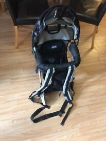 Baby carrier chicco backpack carrier