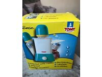 Tomy bottle warmer and x2 tommee tippee bottle warmers carriers