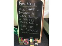 'A 'board and markers for sale