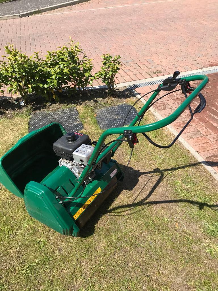 Suffolk punch 17sk petrol lawn mower