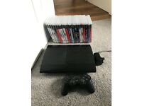 PS3 black super slim 500gb