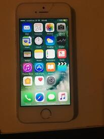iPhone 5s 64GB on Vodafone for sale or swaps
