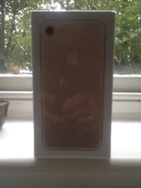 iPhone 7 gold 32 GB brand new seal