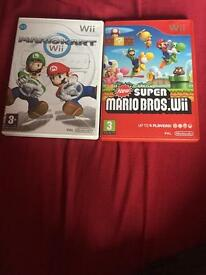Nintendo games, new super mario bros , matio kart